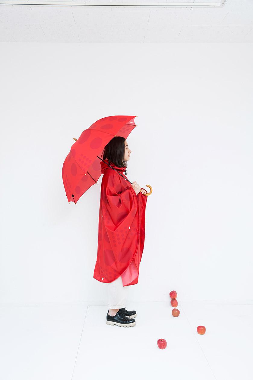 ポンチョfree size(同素材巾着付き)¥4,700+TAX アンブレラ60cm¥2,500+TAX