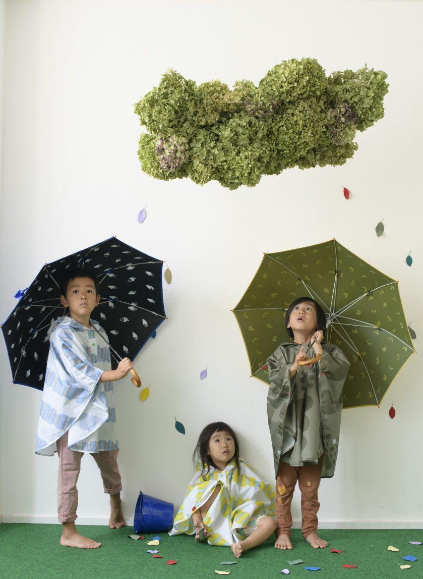 梅雨シーズン、雨降りの日も楽しくお出かけ 『392 plus m』レイングッズ最新作