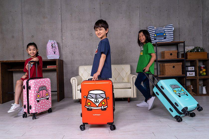 スペイン・サンセバスティアン生まれ<br />グラフィカルな注目ブランド『Calla te la Boca』<br />カラフル&ポップなスーツケース日本初上陸