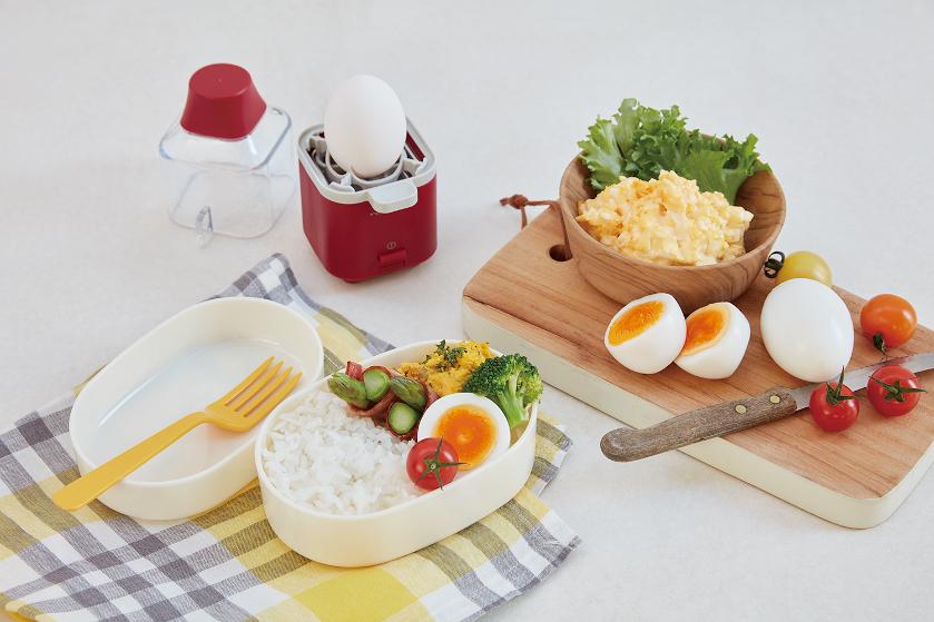"""面倒な""""ゆで卵作り""""が楽ちんに! 手乗りサイズの調理家電「エッグスチーマー」販売開始"""