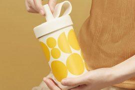 働くママを応援!在宅ワークをもっと快適に。 水滴を気にせず缶をすっぽり、そのまま保冷可能。 2種類キャップ付き保冷タンブラー『Chako Lab』