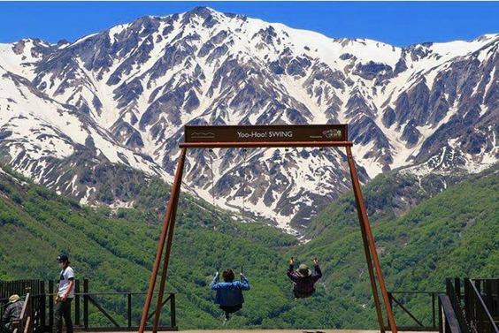 日本初『マウンテンカート』で爽快&絶景! 標高1,289m白馬岩岳山頂、絶景マウンテンリゾート空間!