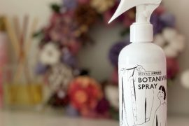 おかえり、シュッ!衣類専用の抗菌・抗ウイルス・防臭 『ボタニウィルスプレー』