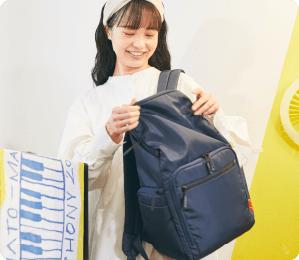 ざっくり入れてもスッキリ整う。 荷物迷子にならない軽い育児バッグ「Che'alo(チェアロ)」