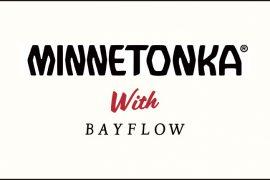 『MINNETONKA』×『BAYFLOW』コラボ<br />世界初アパレルコレクション発表