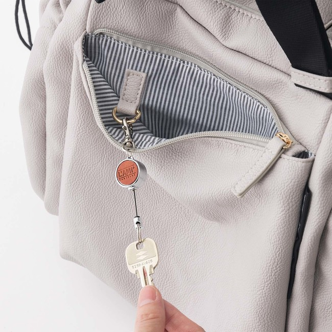 8つのポケットでリュックのゴチャつきをすっきり整理