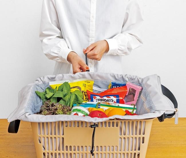 背負えるエコバッグとして、毎日のお買い物を時短&スマートに解決