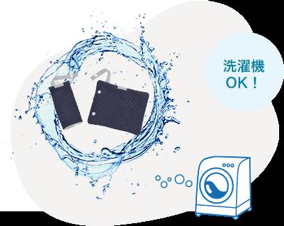 『EN71-3』の基準、洗濯出来て清潔