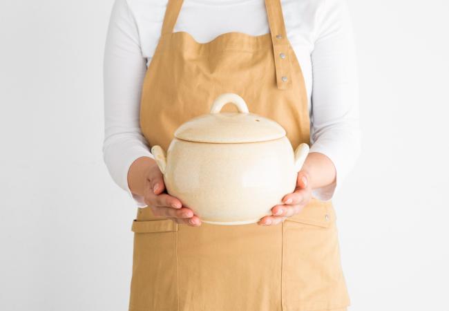 ふっくらおいしく炊ける「ごはん鍋」