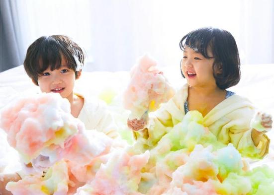 笑顔はじける魔法のバブル『Kefii バブルクレンザー』苦手なお風呂も楽しい時間に!