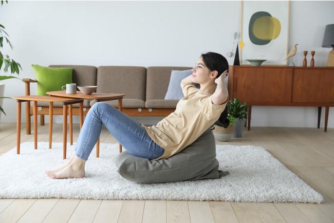 座ってゆらゆらするだけで手軽に運動不足解消