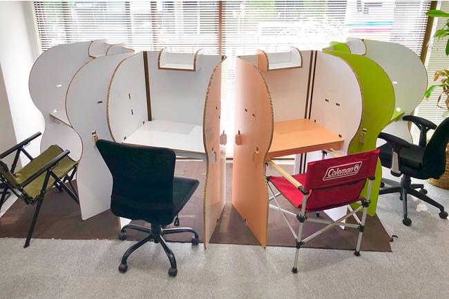 Point5:オフィスでの飛沫、ソーシャルディスタンス対策に